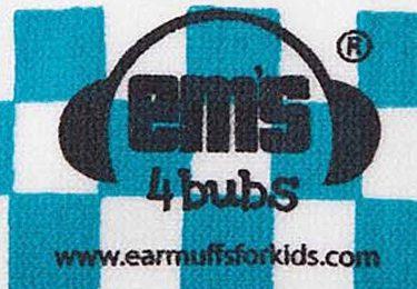 Ems for Bubs Headband - Blue/White