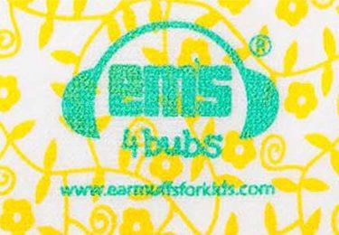 Ems for Bubs Headband - Lemon Floral